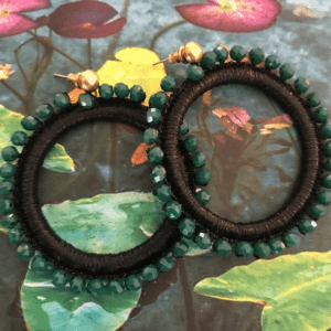 black emerald ring